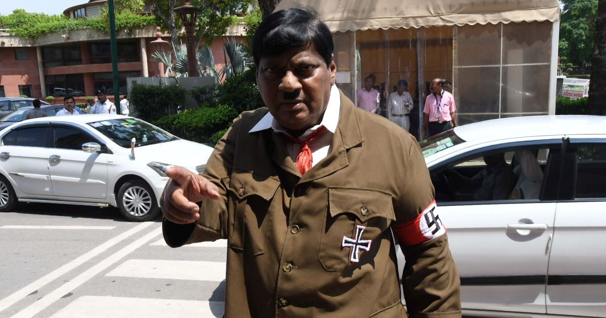 Indian lawmaker dresses up as Hitler to protest premier Modi - Africa, Asia and ...