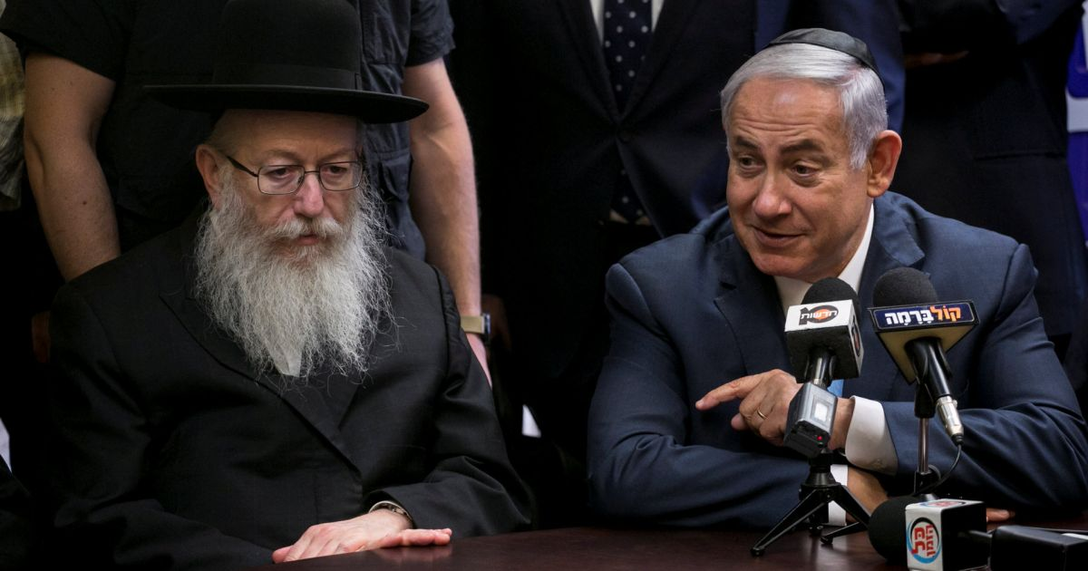 Will Netanyahu Call Early Elections? Hasidic Rabbi to Decide
