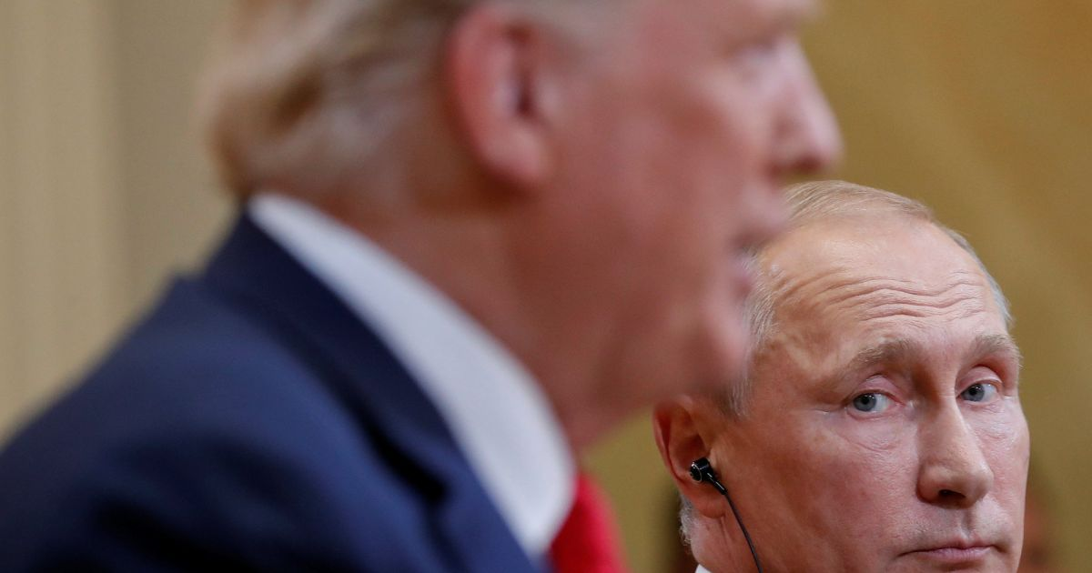Trump says he did not confront Putin about...