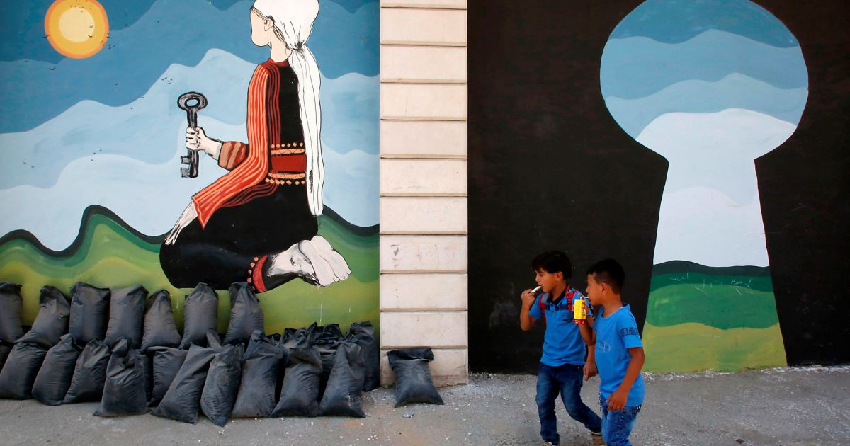 children of catastrophe journey from a palestinian refugee camp to america