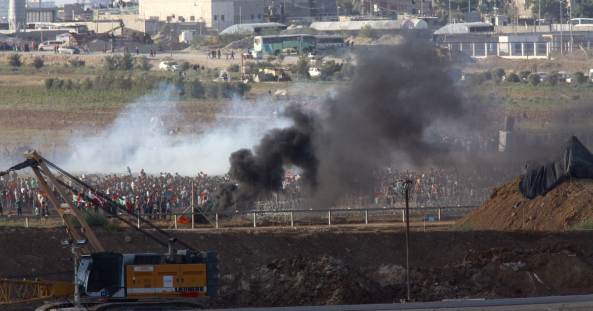 17-year-old Palestinian said killed, 30 wounded by live Israeli fire ...