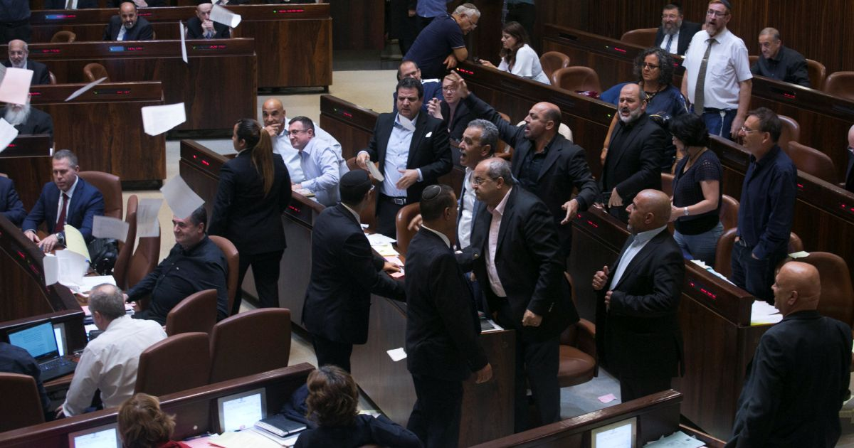 The racist law of the left-wing government - Opinion - Israel News | Haaretz.com