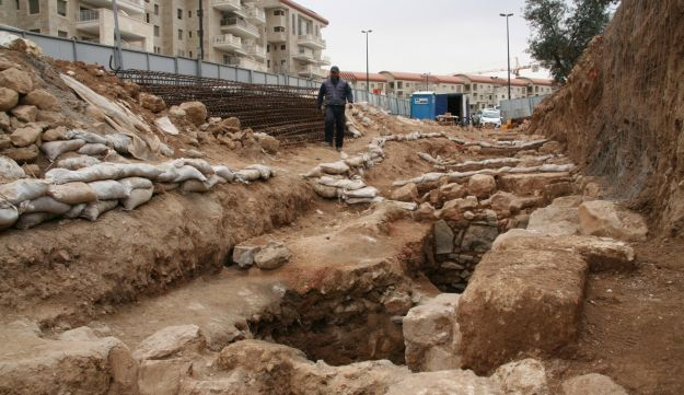 The site where the earliest-ever inscription bearing Jerusalem's full name was discovered.