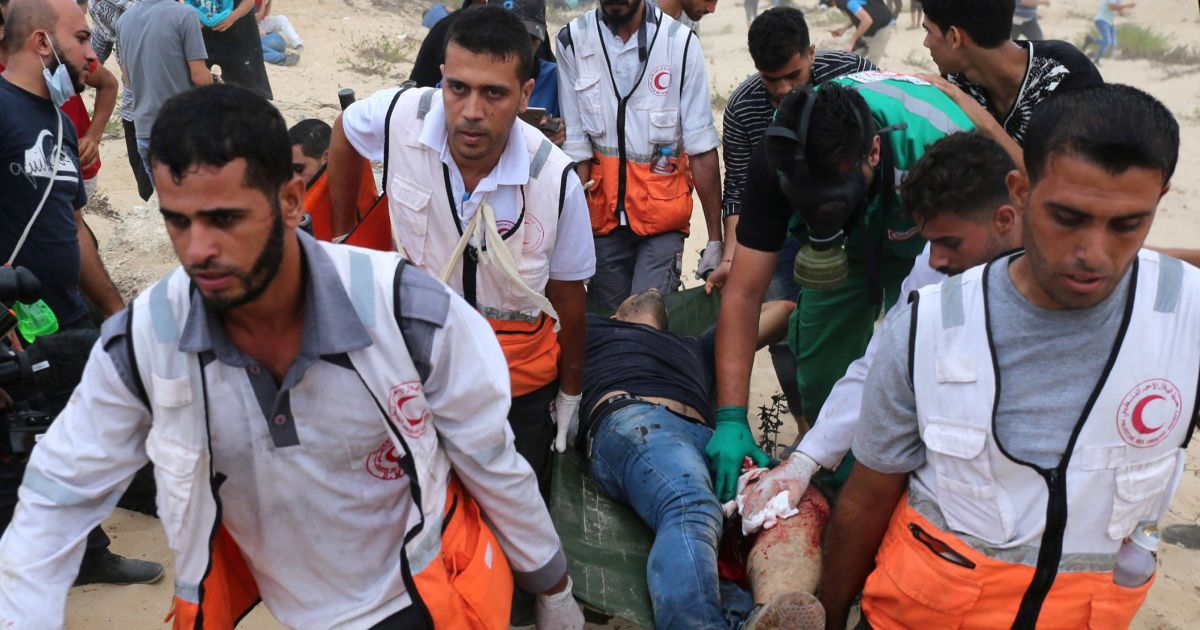 Israel bars two members of U.S. medical delegation from entering Gaza because they're Jewish
