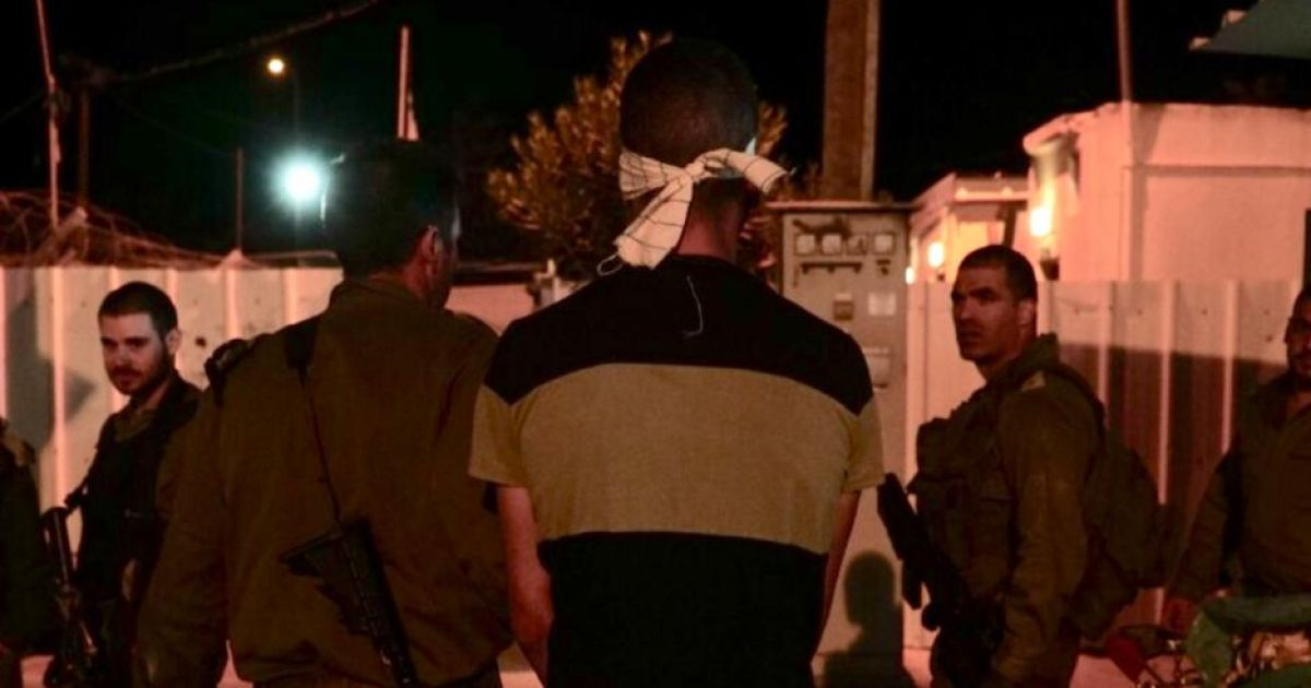 Israel nabs Palestinian suspected of stabbing army reservist in West Bank