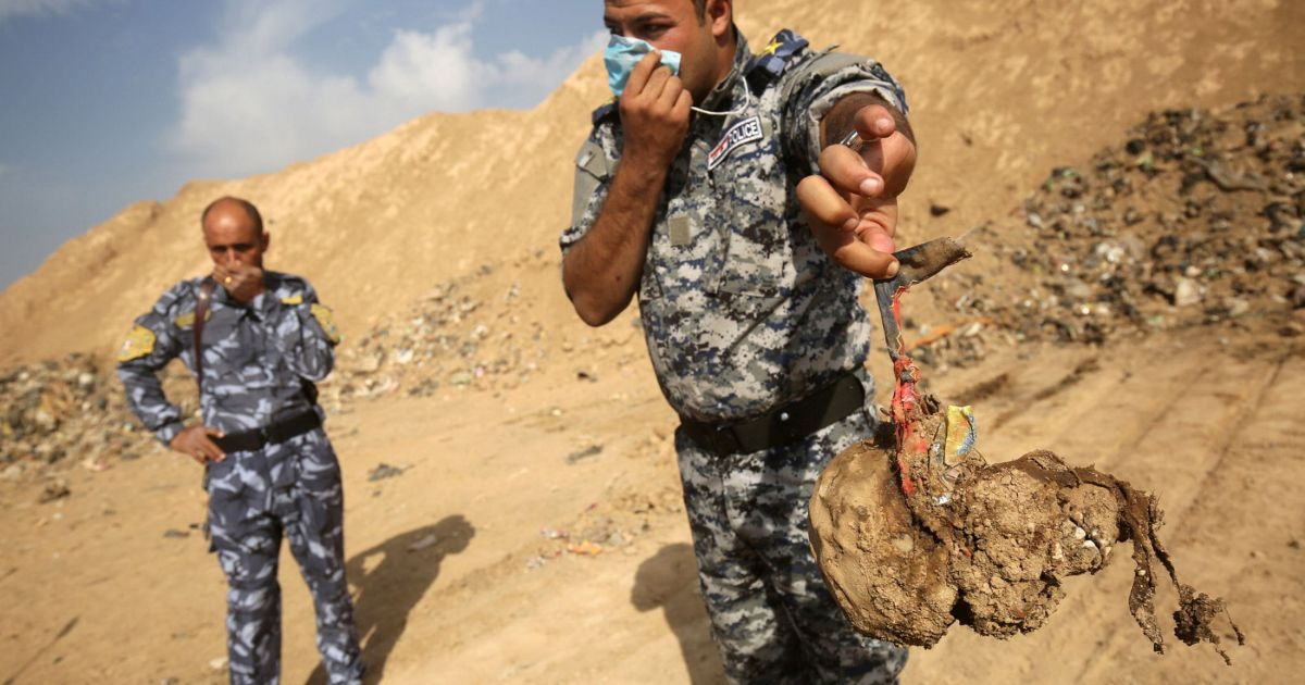 More than 200 mass graves of ISIS victims found in Iraq, UN report says