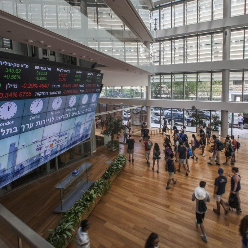 Business in Brief: Tel Aviv Stock Exchange finishes with