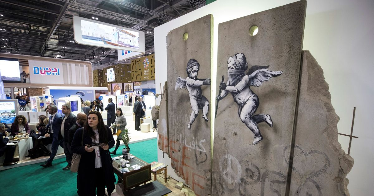 Banksy's Latest pro-Palestine Stunt Sparks Spat With Top Israeli Art Collector