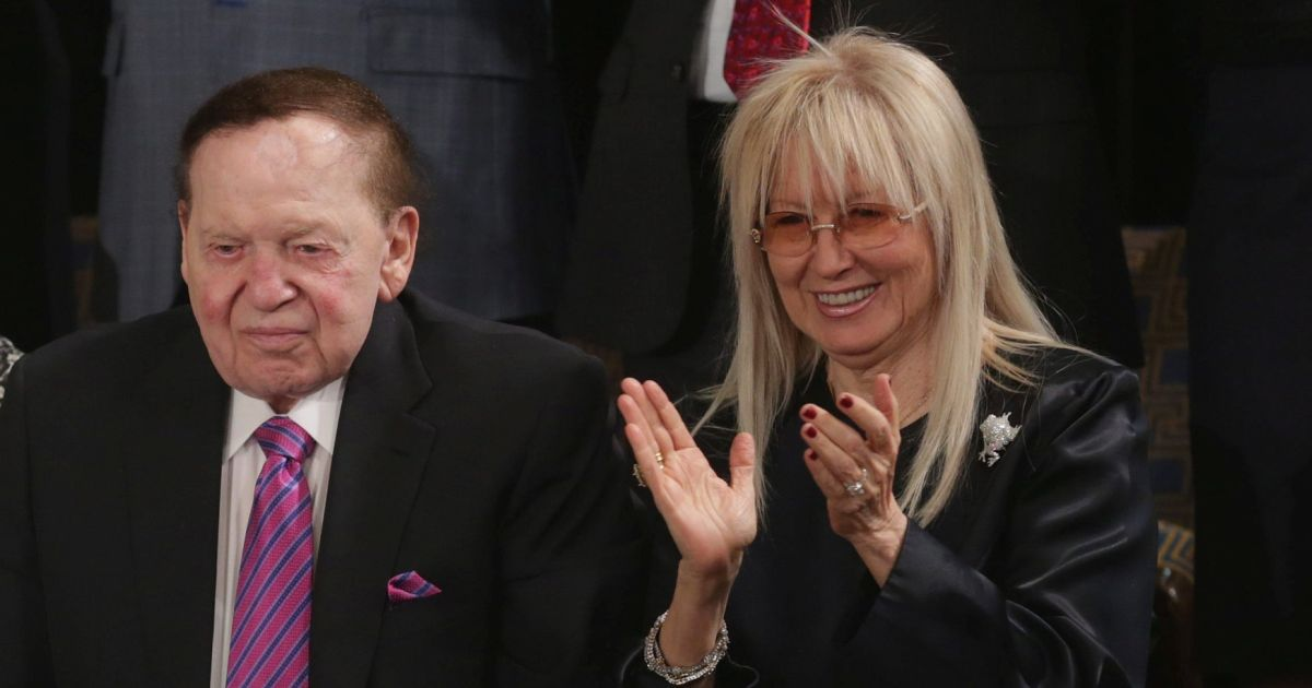 Mock Trump's decision to honor Miriam Adelson all you want, but don