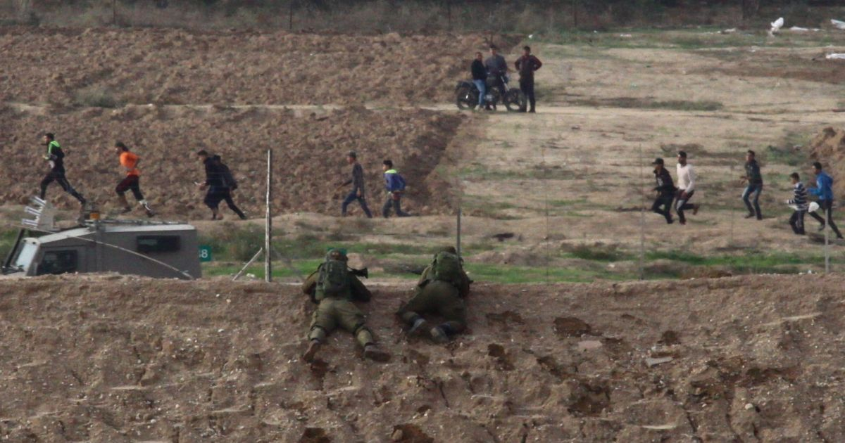 Palestinians report one killed by Israeli fire in Gaza-border protests