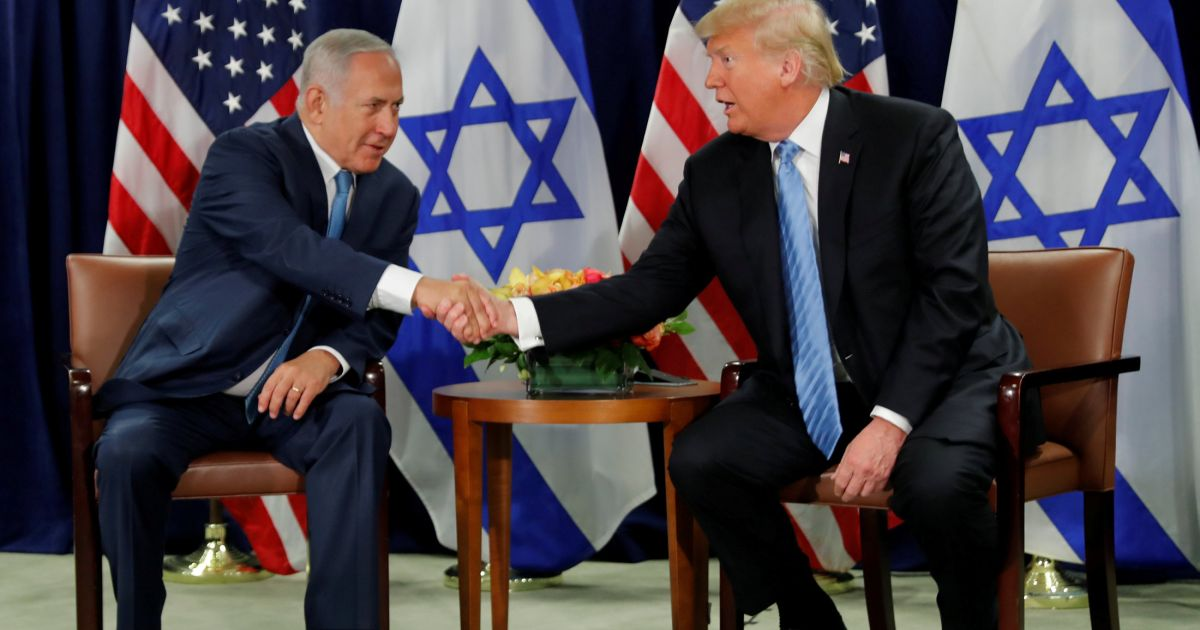 Trump: Israel 'one reason' for U.S. troops to remain in Middle East