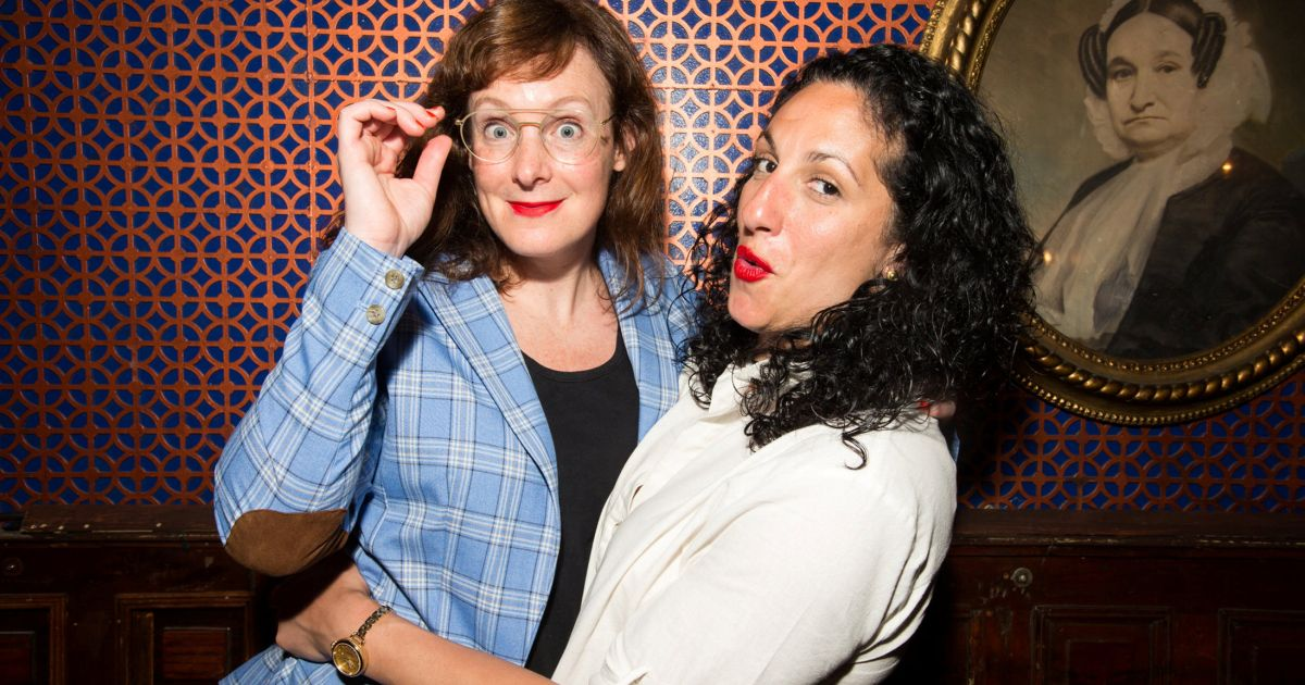 The Married, Lesbian Palestinian-Jewish Couple Using Comedy to Smash  Stereotypes