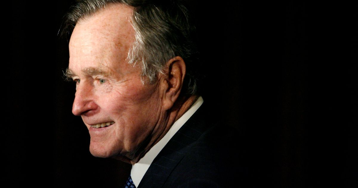 George H W Bush And His Roller Coaster Relationship With American