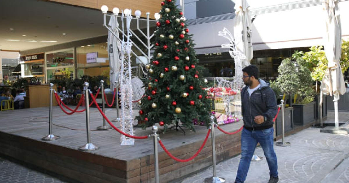 Christmas Tree at Israeli Mall Sparks Uproar: 'Designed to Harm Anyone Who Identifies as Jewish'