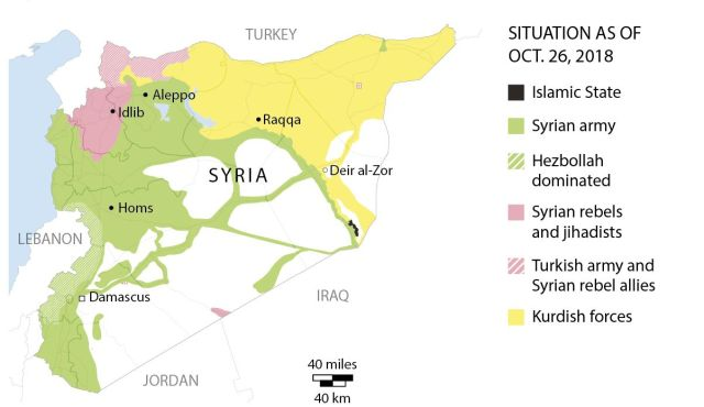 U S Exit From Syria Could Redraw The Map Of The Middle East S Blocs