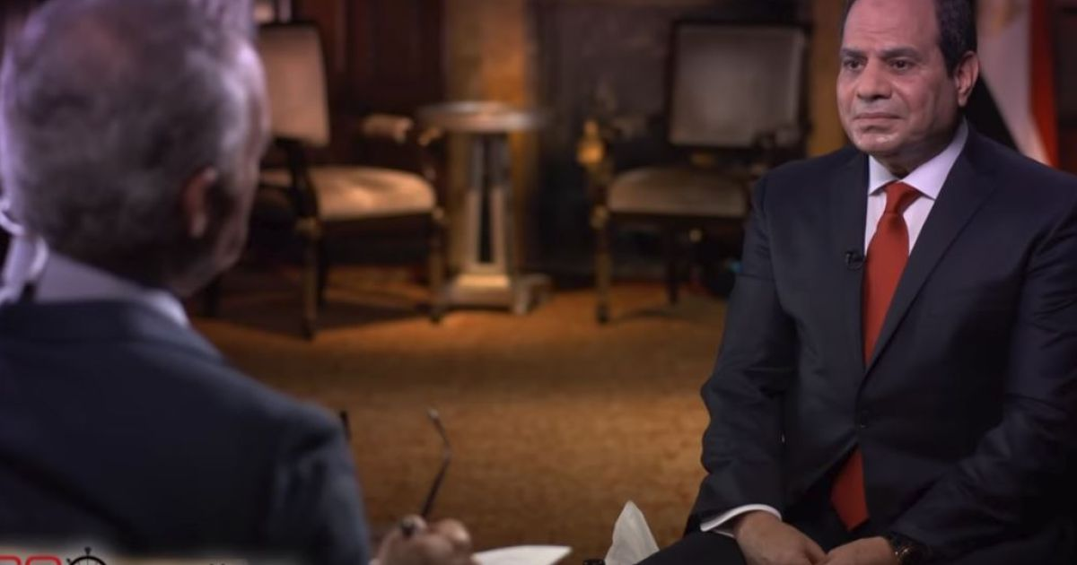 CBS explains how Egypt tried to kill a '60 Minutes' Sissi interview over Israel comment