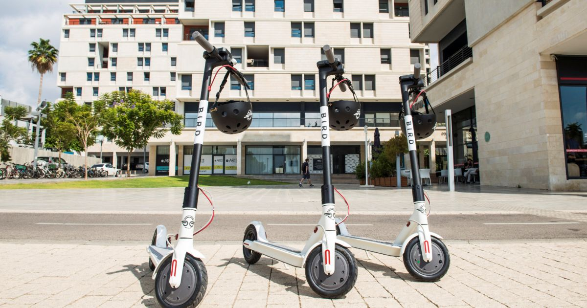 Rented Electric Scooters Taking Tel Aviv by Storm