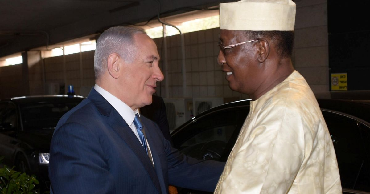 Netanyahu to Make First Visit to Chad to Formally Renew Ties