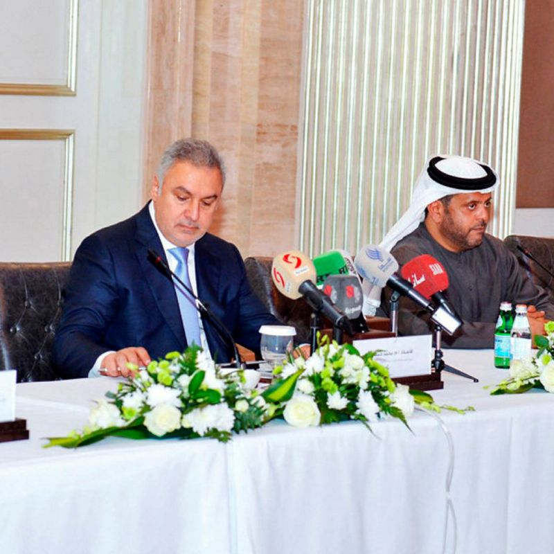 UAE holds trade meeting with U S-sanctioned Syrian businessman