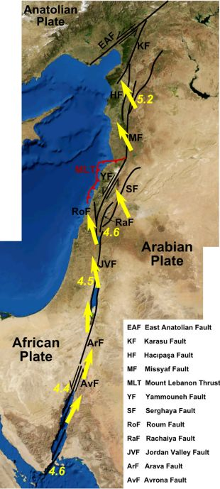 Israel is hundreds of years overdue for a massive earthquake
