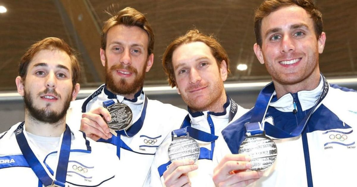 Israel Nabs Its First-ever World Cup Fencing Medal, Winning Silver