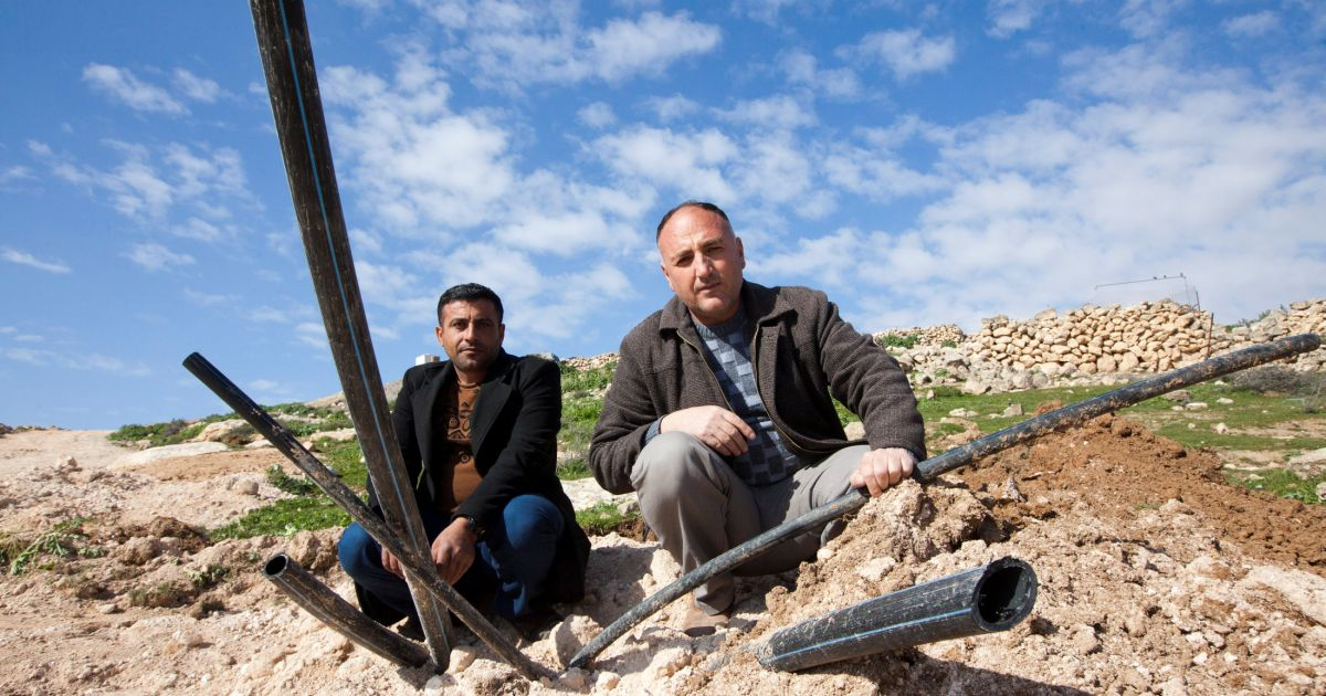 Analysis Why Doesn't Israel Want Palestinians to Have Running Water?