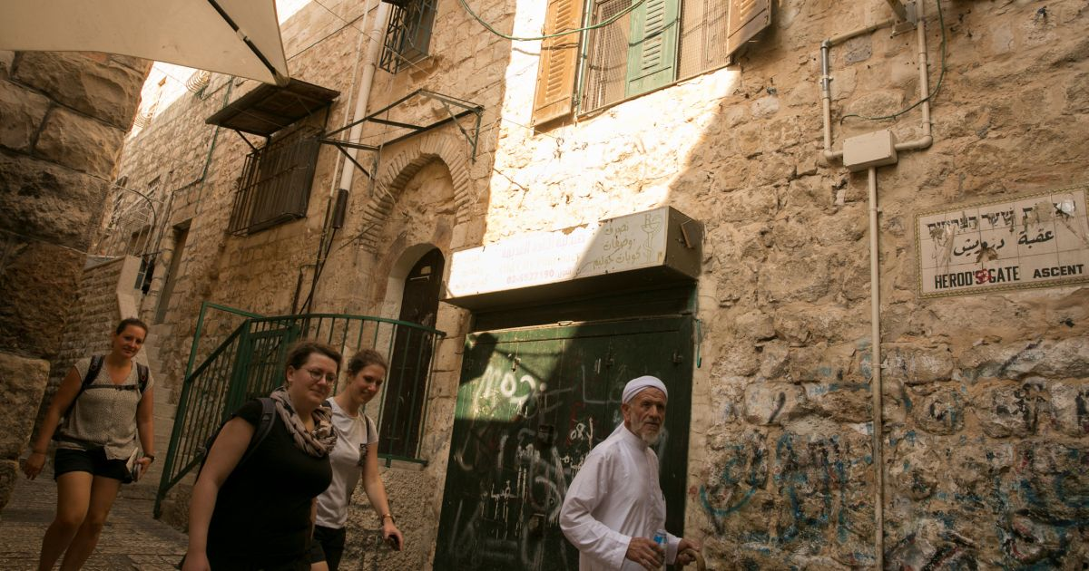 Jews Move Into Controversial Muslim Quarter House in Jerusalem's Old City