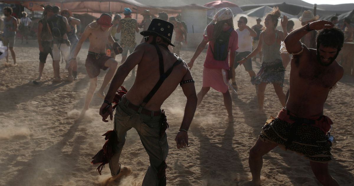 Israel's Burning Man Cancelled After Army Turns Down Proposed Location