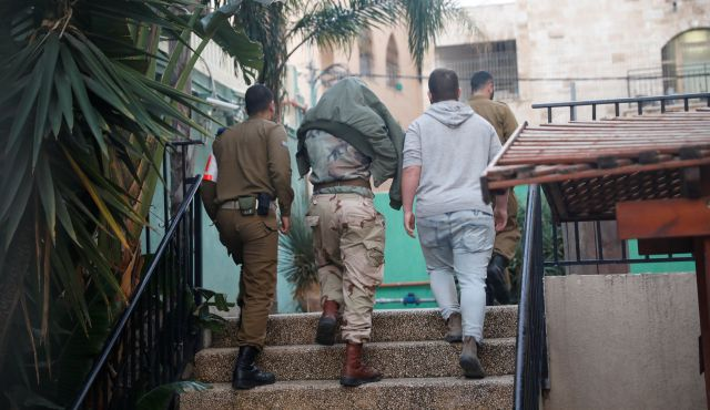 ff0f6d58 Israeli soldiers who beat detained Palestinians are part of a bigger evil -  Israel News - Haaretz.com