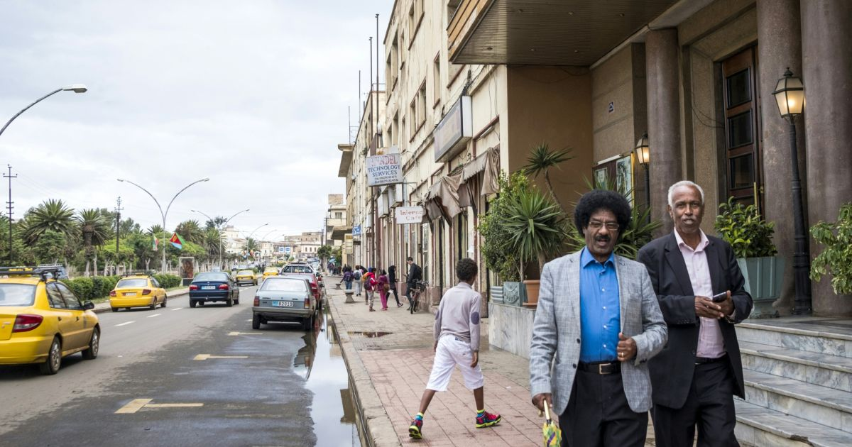 Eritrea's capital is lovely  But scratch the surface and you