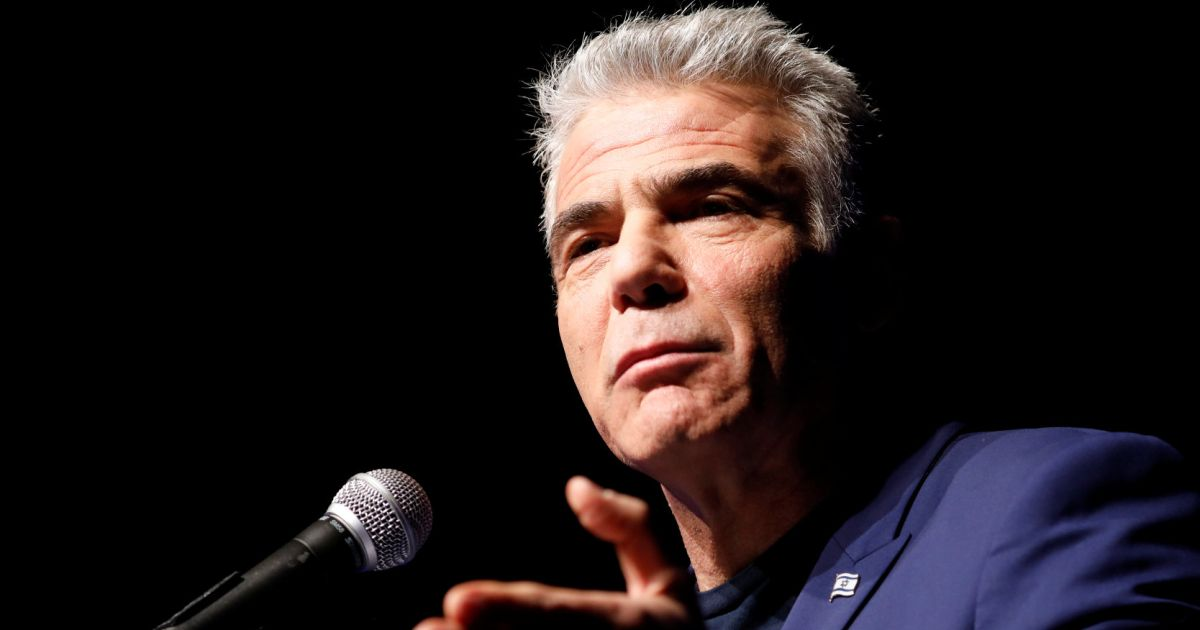 Yair Lapid Says Coalition With Netanyahu, Lieberman Is the Right Thing for Israel