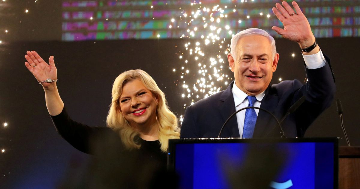Election Wont End This Overnight But >> Israel Election 2019 Netanyahu Ties With Gantz But Has Clear Path