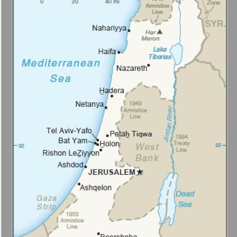 Trump administration releases updated map of Israel ...