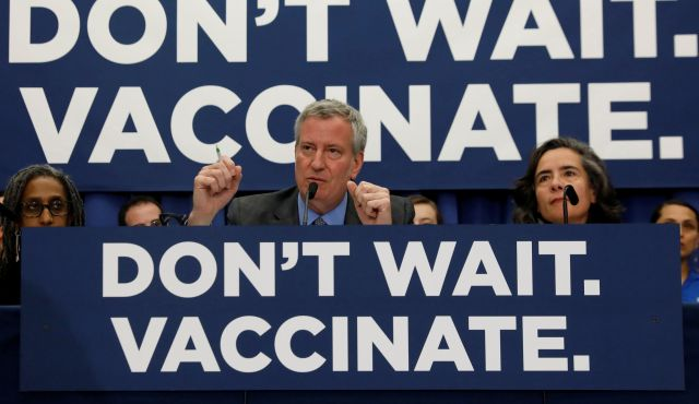 Nine Out Of Ten Anti Vaxxers Agree We Are Smarter Than >> Between Anti Vaxxers And Anti Semitism N Y C S Orthodox Jews War