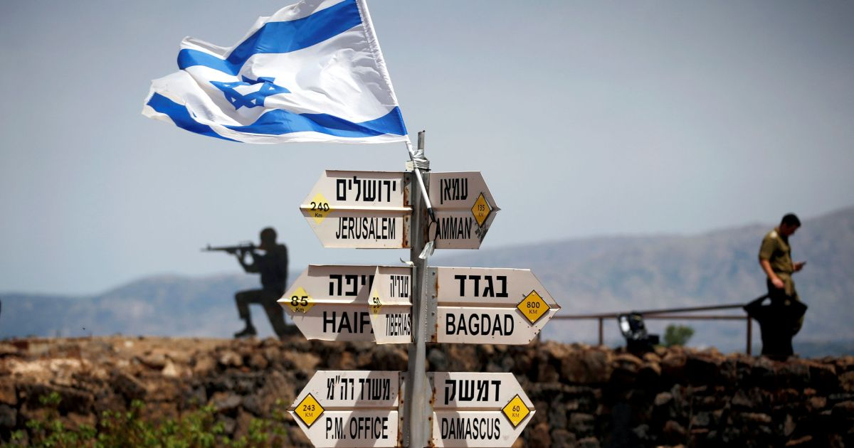 After Trump's Move, U.S. Will Now Register People Born in Golan Heights as Native Israelis