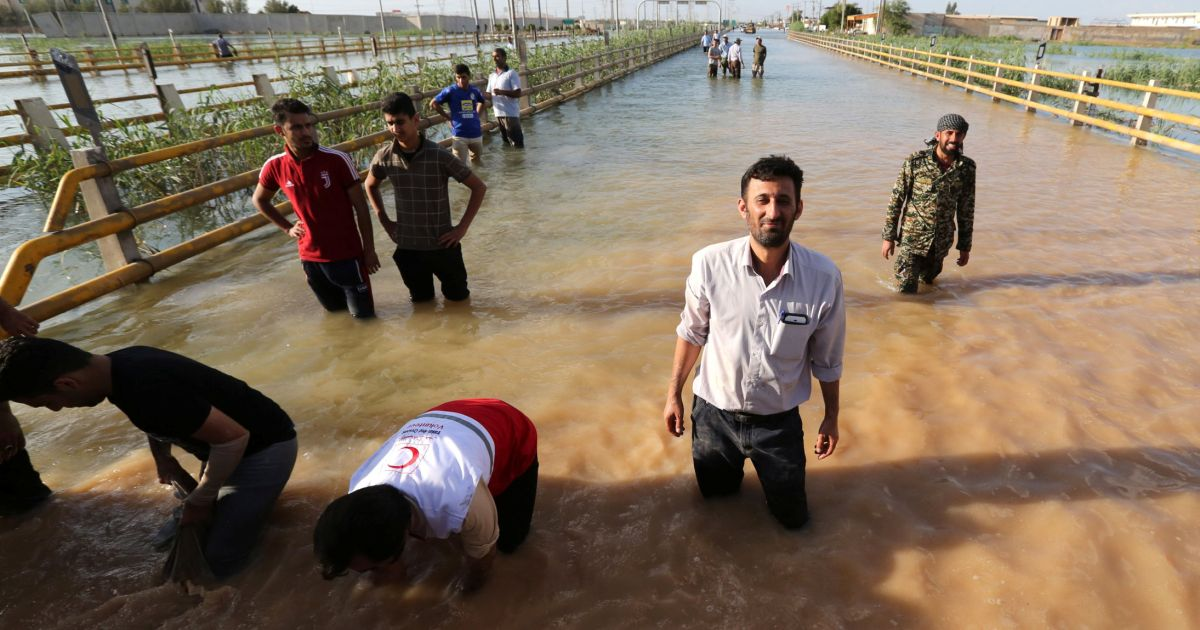 Analysis Iran Floods Leave Its Regime Drowning in Domestic Criticism