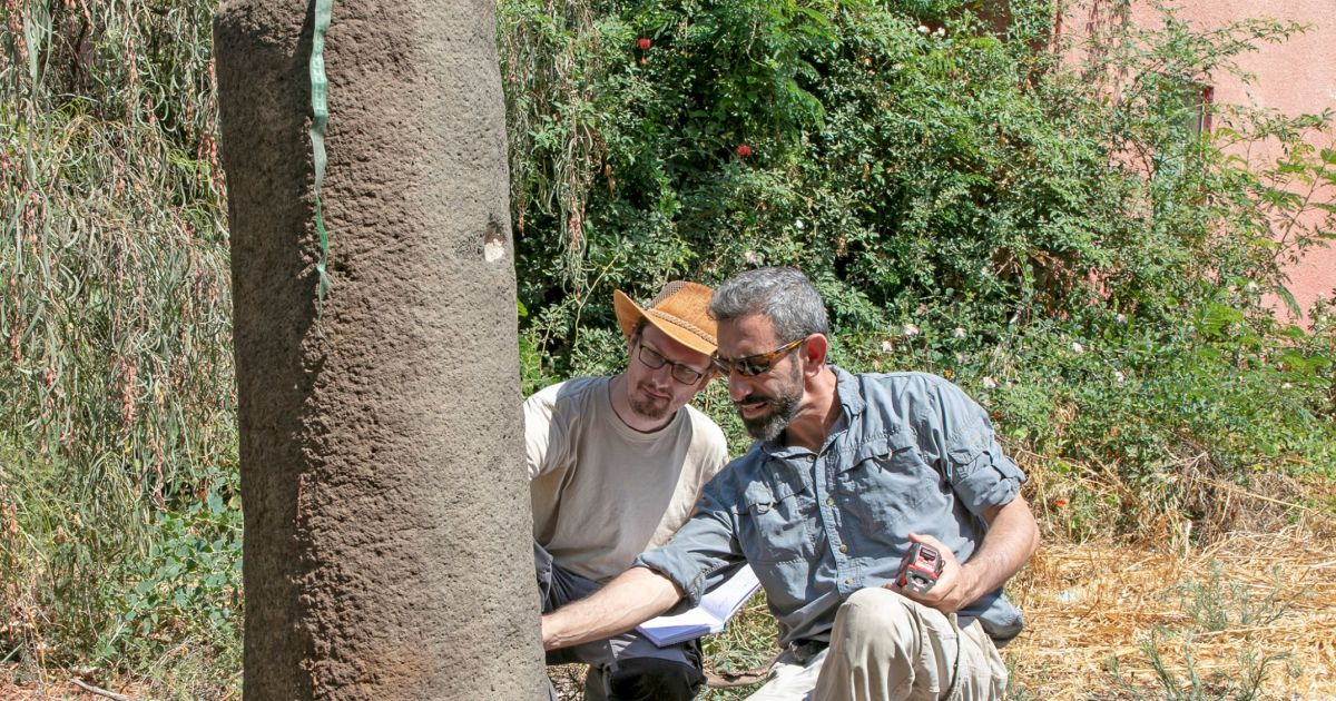 Roman Milestone Inscription Deciphered for the First Time Near Sea of Galilee