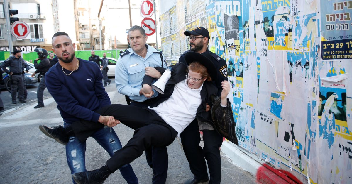 Opinion It's Time to Get Down and Dirty, and Draft the ultra-Orthodox