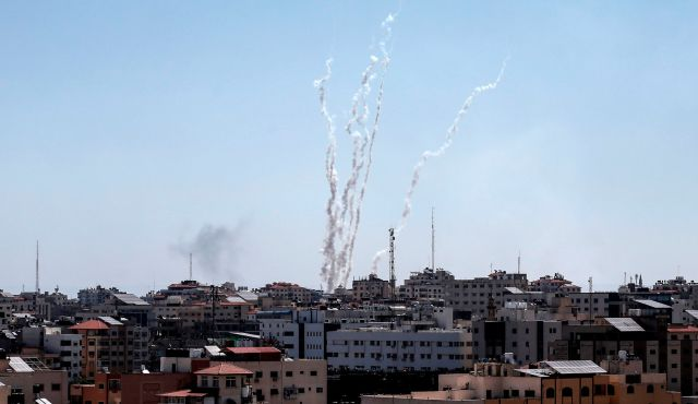 Over 400 Gaza rockets fired at Israel