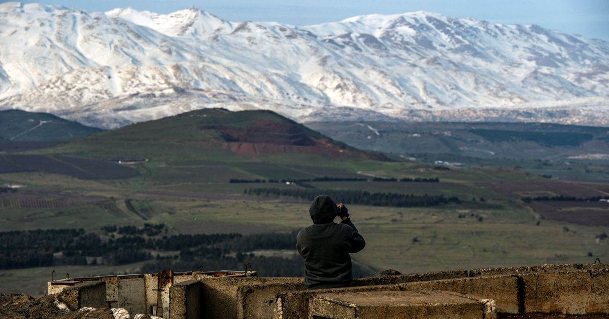 Netanyahu Says Plan for New Golan Community Named After Trump Under Way