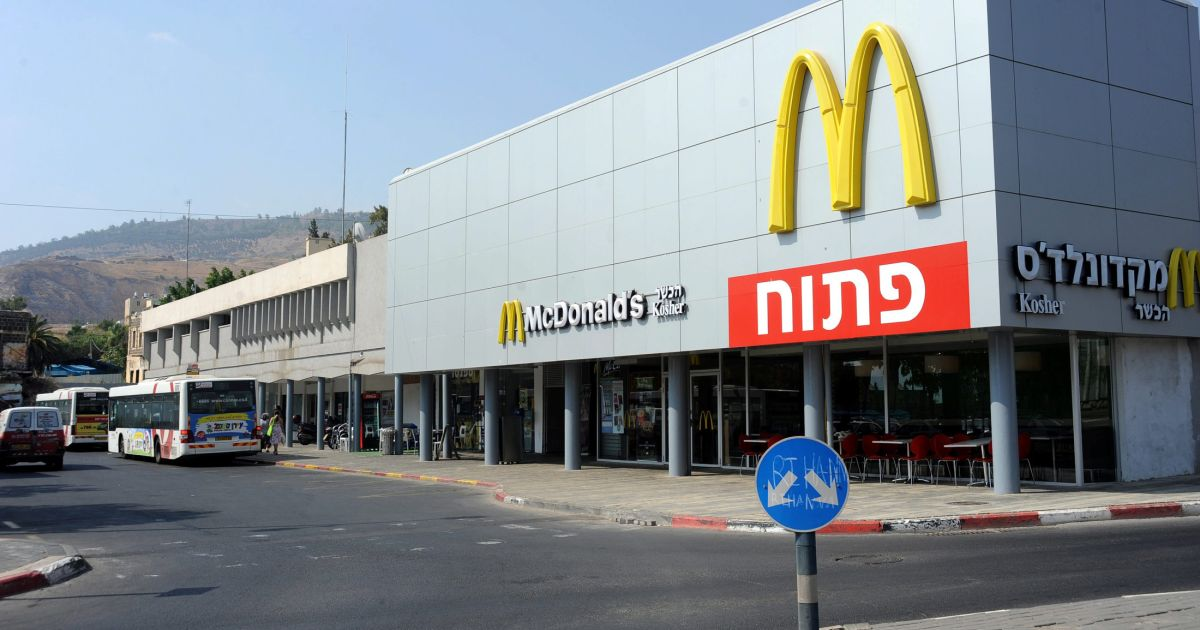 Opinion How Did Ronald McDonald Become the Scourge of West Bank Settlers?