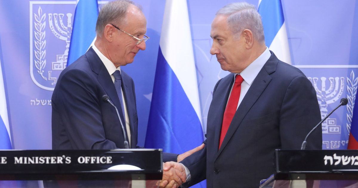 Netanyahu Meets Russian National Security Adviser to Discuss Mideast Security Coordination