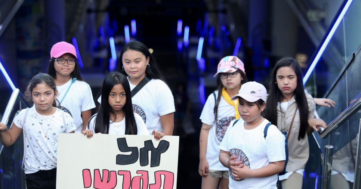 Thousands in Tel Aviv Protest Plans to Deport Filipina Women and Their Children