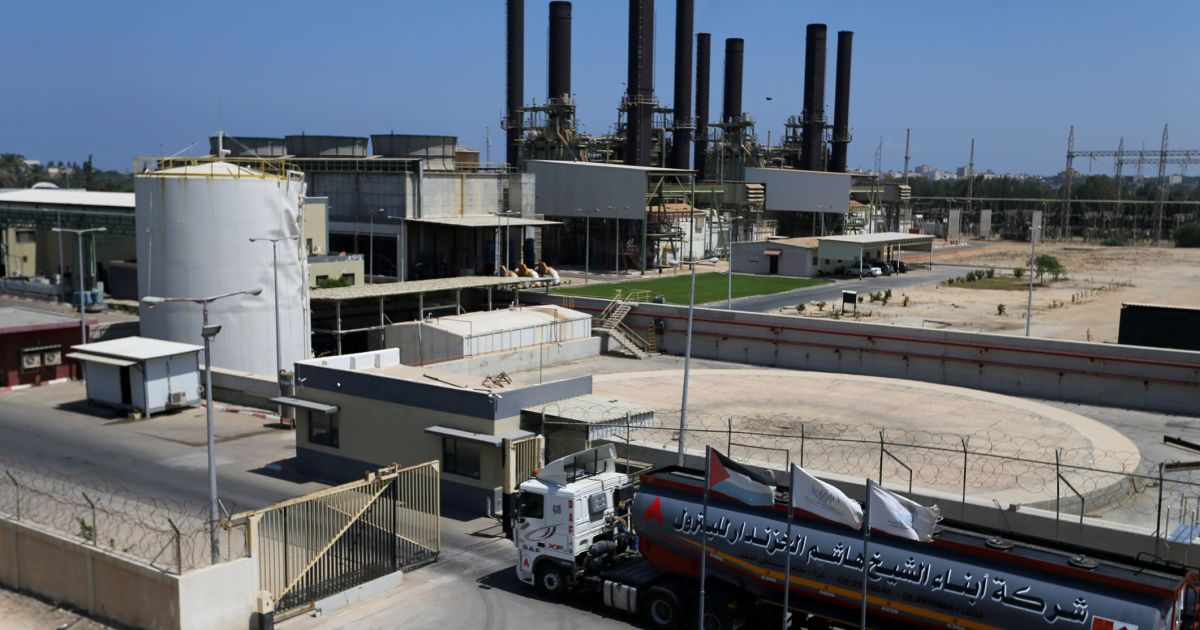 Israel blocks fuel deliveries to Gaza power plant