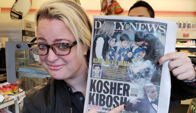 Shunned by her ultra-Orthodox community, this lesbian comedian is