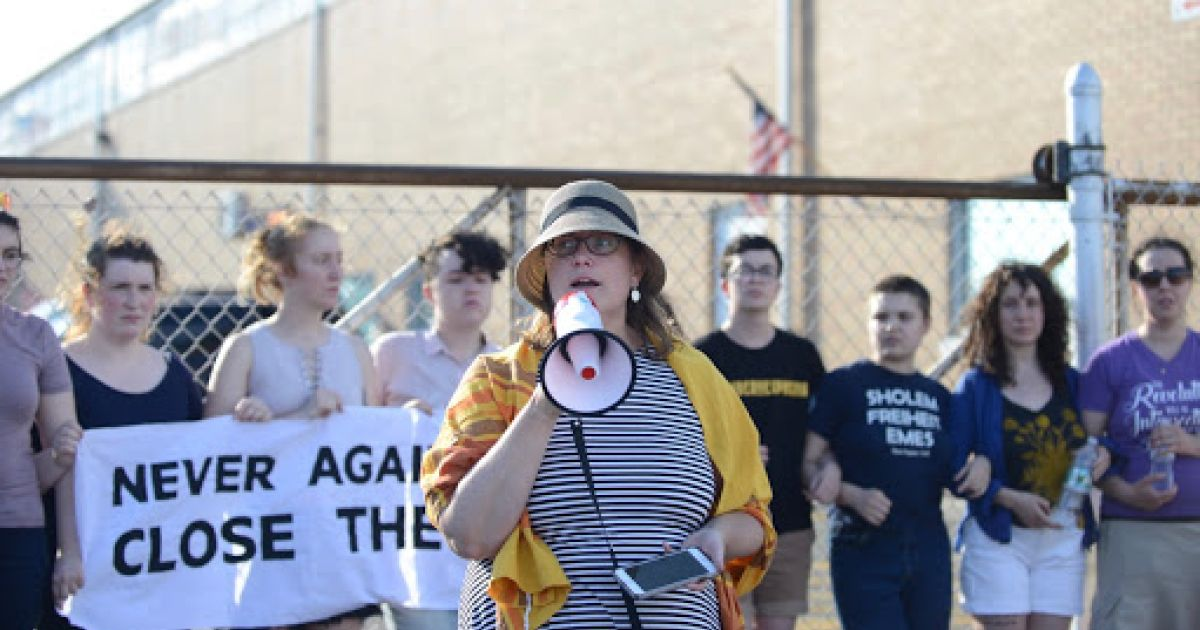 Jewish activists who slammed ICE detention facilities as