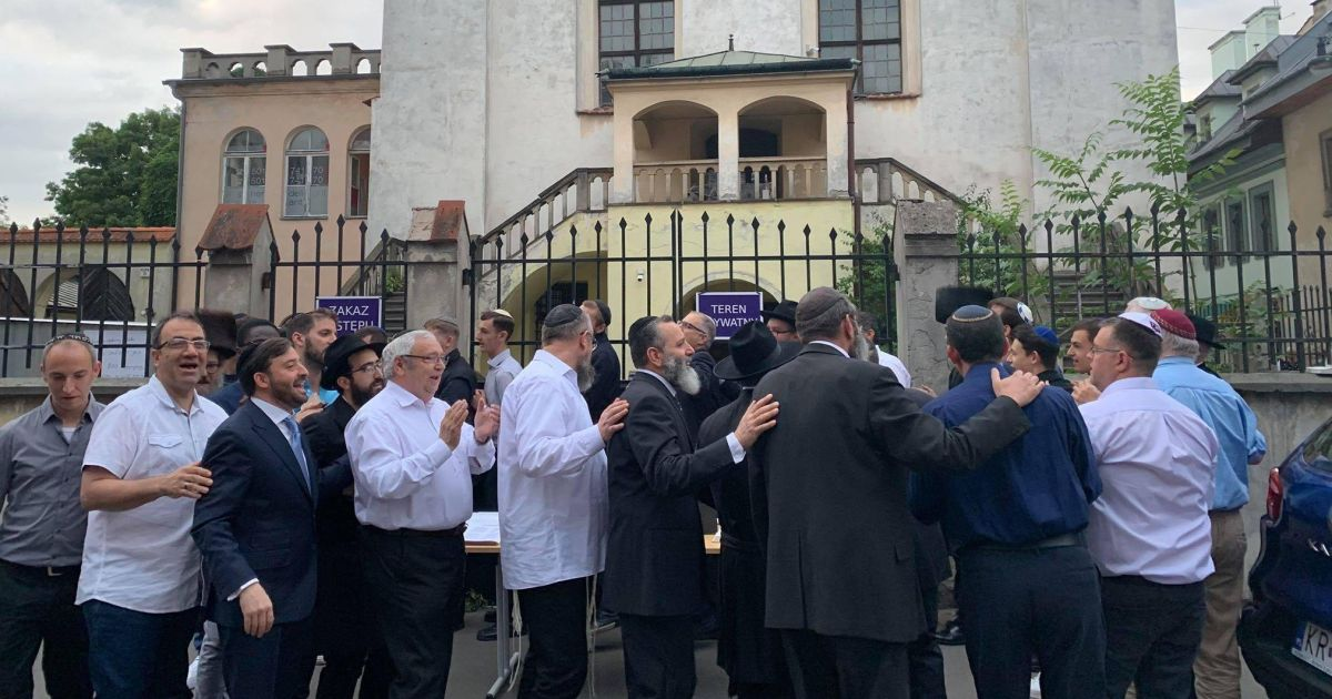 Jewish Feud Shuts Krakow Synagogue for First Time Since Holocaust