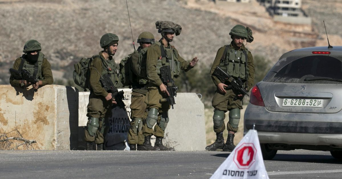 Israeli Arab Shot by Soldiers at West Bank Checkpoint; Official Says Wounded in Family Dispute