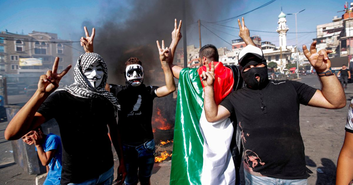 Palestinians in Lebanon Take to the Streets Over Foreign Worker Clampdown