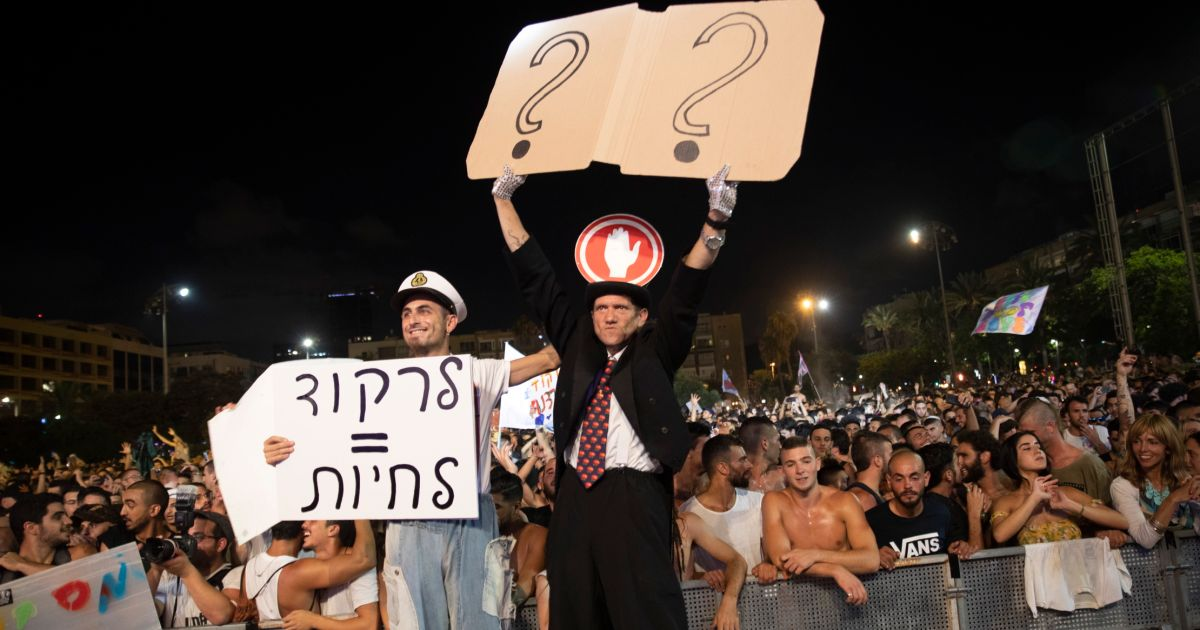20,000 Israelis Protest in Tel Aviv Over Nixing of Music Festivals Countrywide